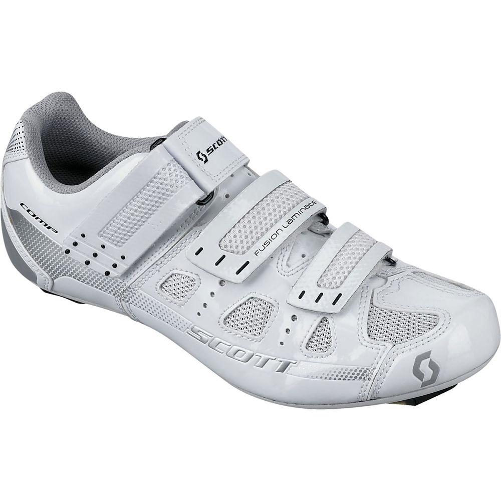 スコット レディース 自転車 シューズ・靴【Road Comp Lady Shoe】White Gloss