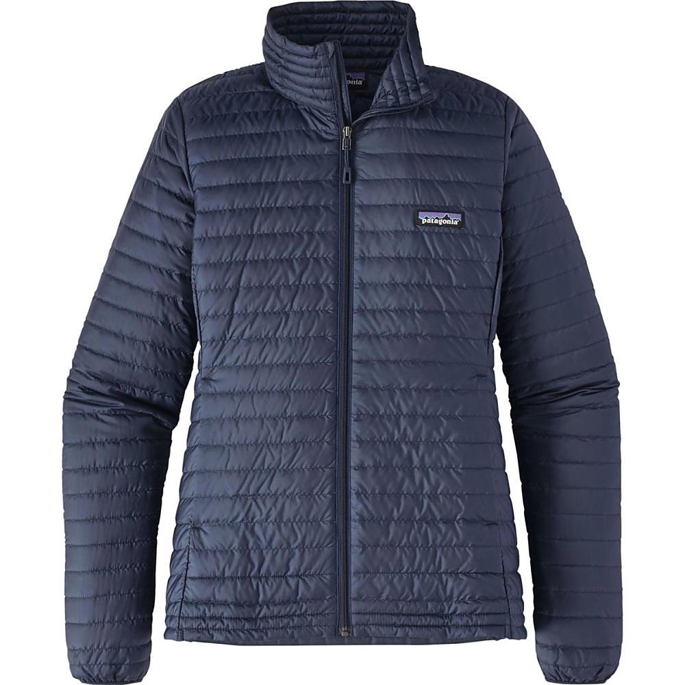 パタゴニア レディース アウター ダウンジャケット【Down Shirt Jacket】Navy Blue