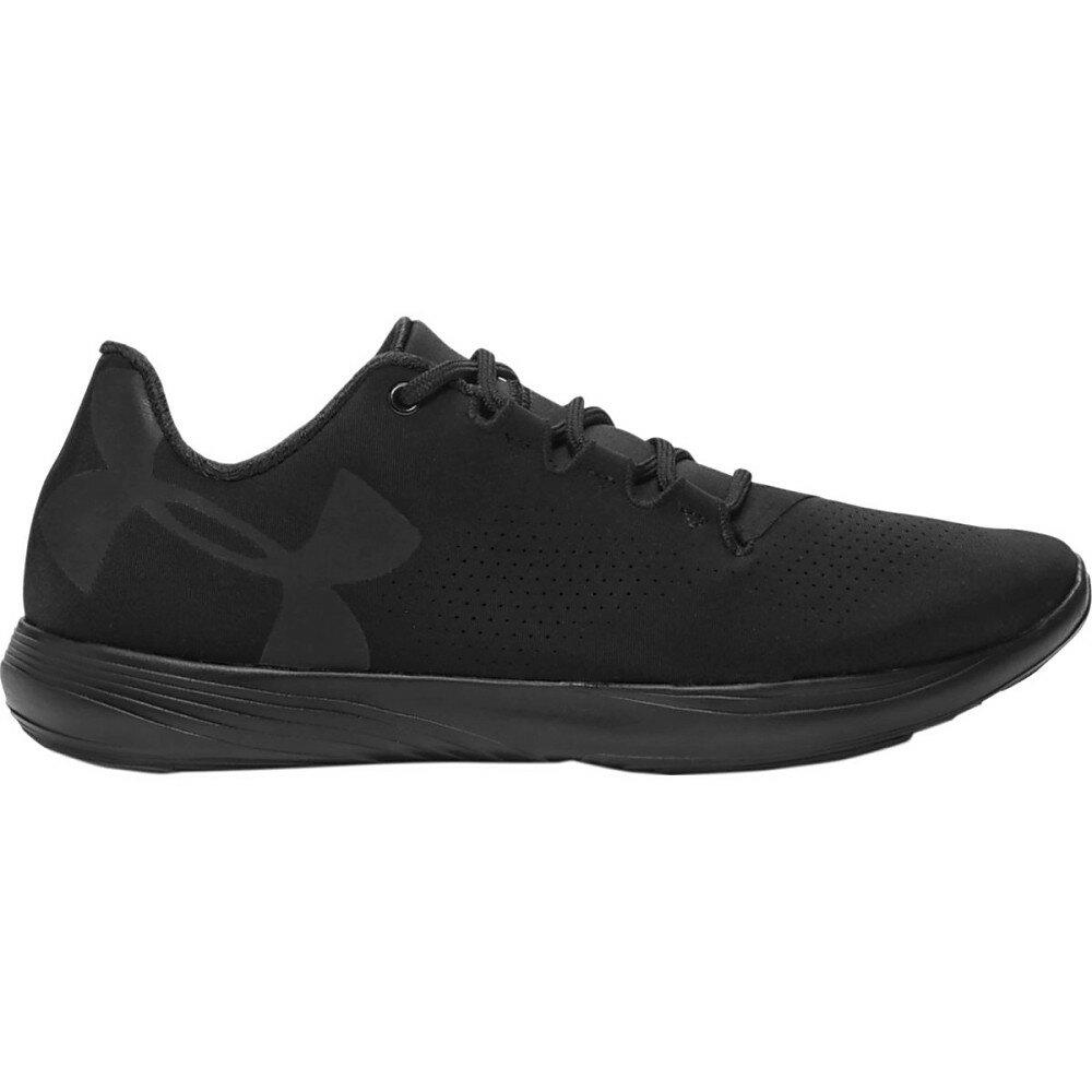 アンダーアーマー レディース シューズ・� スニーカー�Street Precision Low Shoe】Black/Black /Black