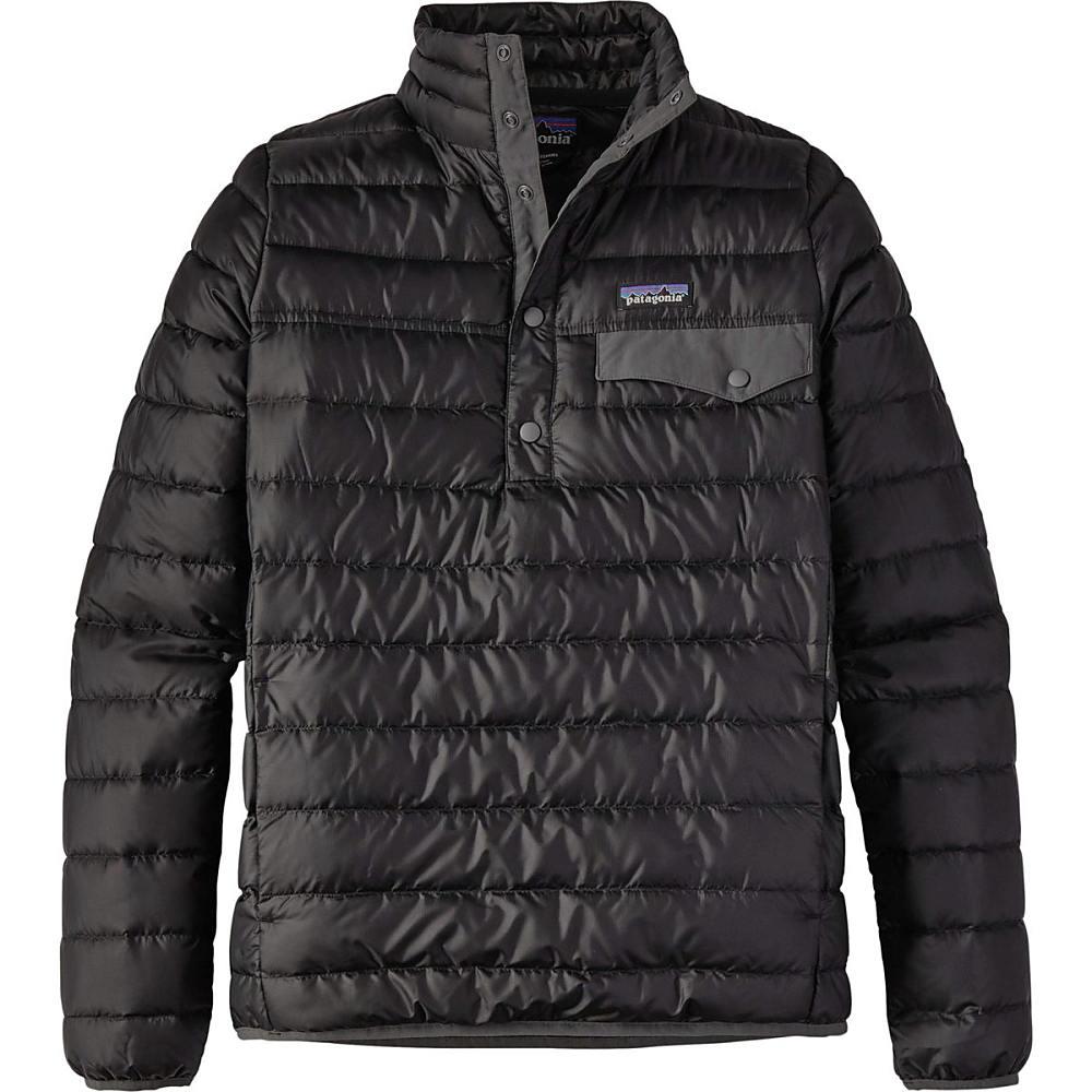 パタゴニア レディース アウター ダウンジャケット【Down Snap - T Pullover Jacket】Black
