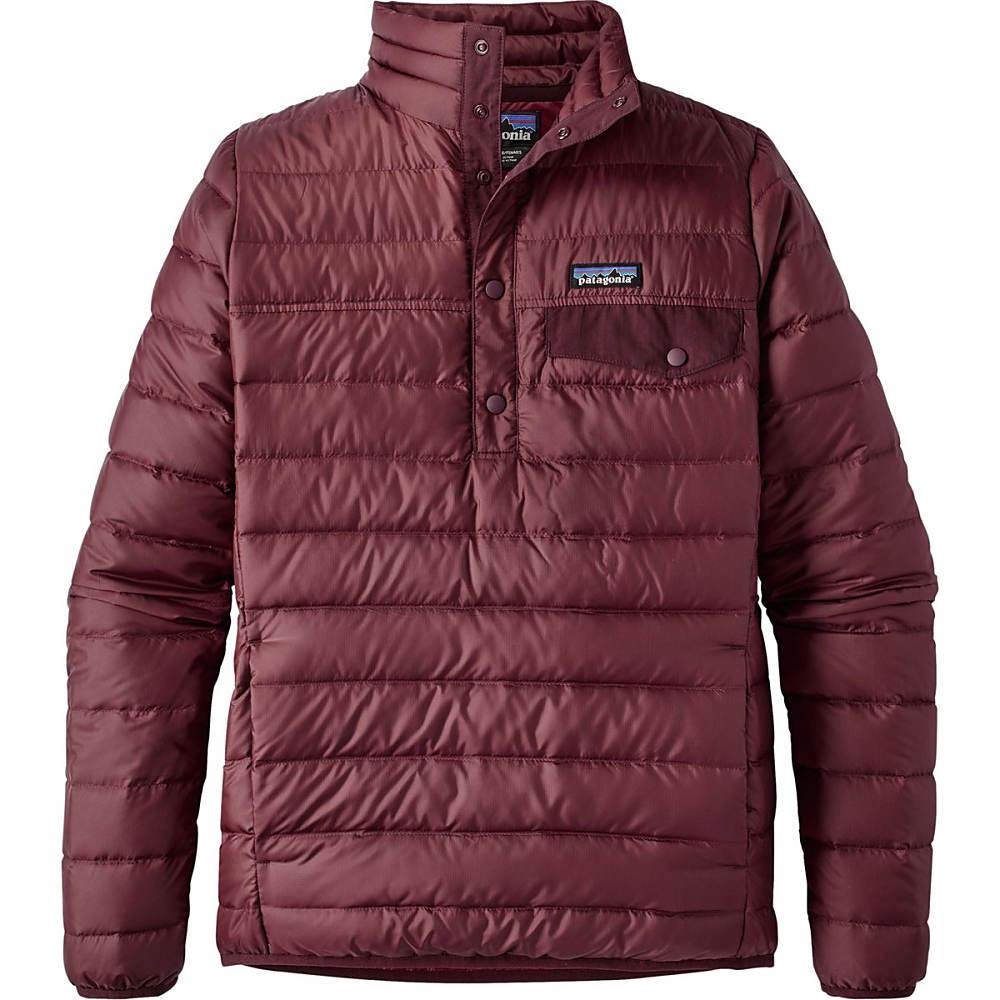 パタゴニア レディース アウター ダウンジャケット【Down Snap - T Pullover Jacket】Drumfire Red