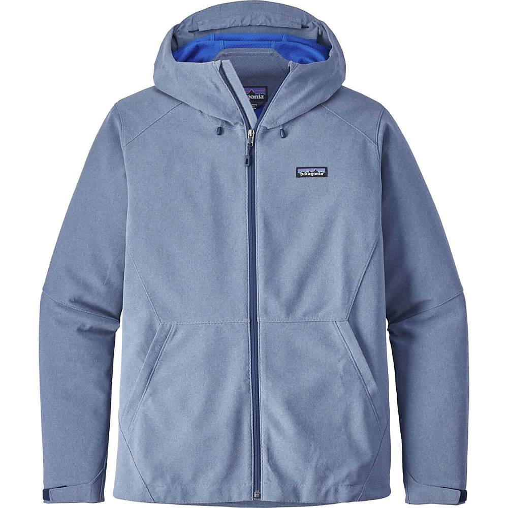 パタゴニア メンズ アウター ジャケット【Adze Hybrid Hooded Jackets】Navy Blue