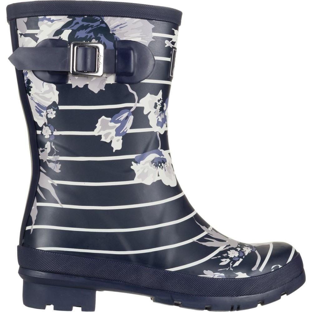 ジュールズ レディース シューズ・靴 レインシューズ・長靴【Molly Welly Boot】French Navy Posy Stripe