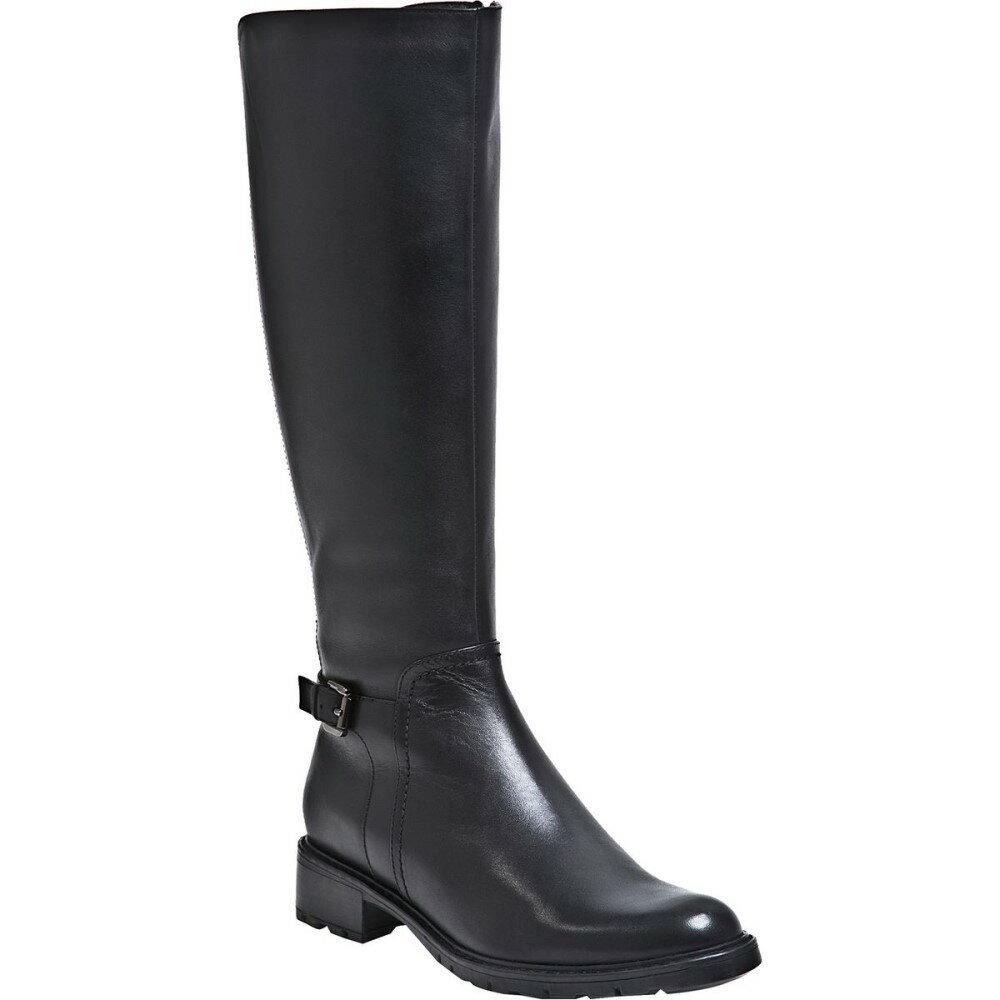 ブロンド レディース シューズ・靴 ブーツ【Vassa Waterproof Boot】Black Leather