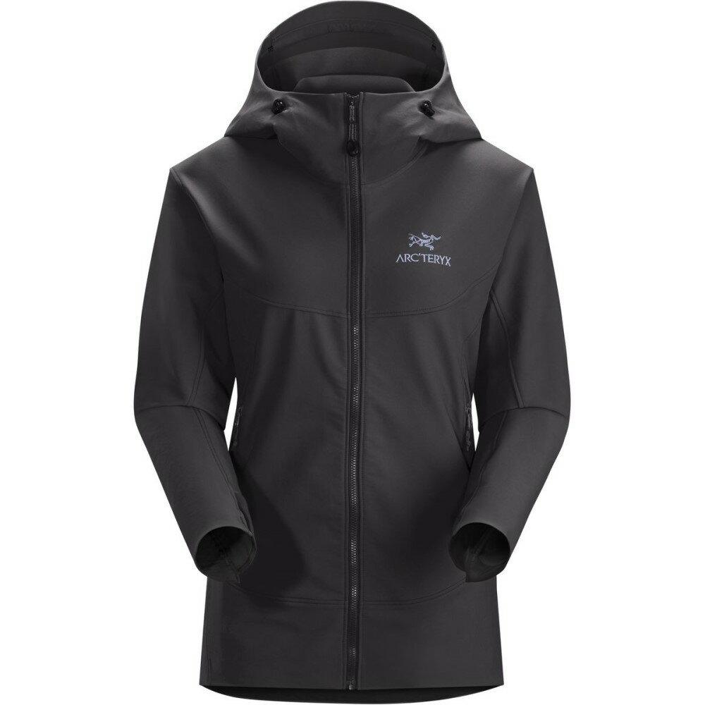 アークテリクス レディース アウター ジャケット【Gamma LT Hooded Softshell Jacket】Black