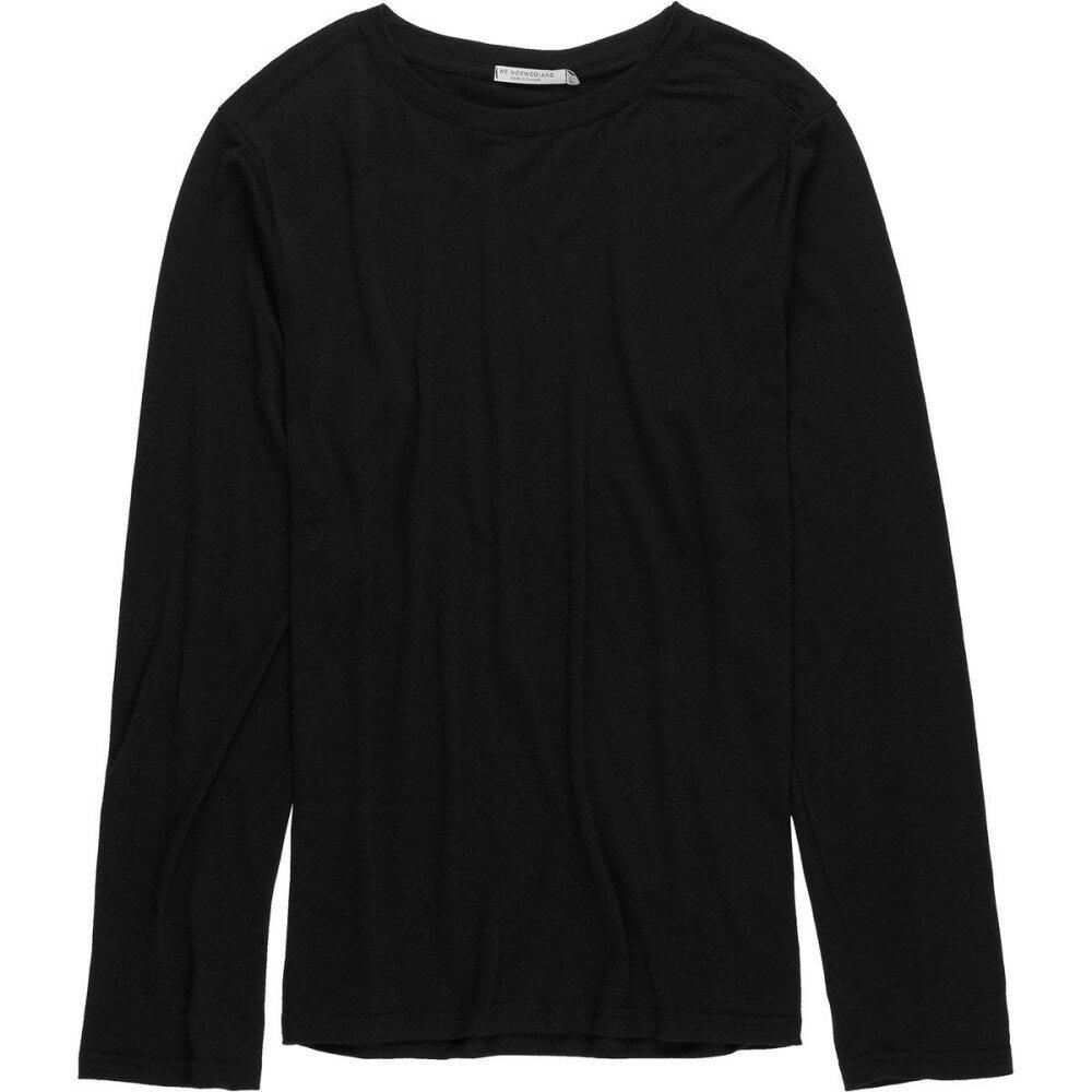 ウィー ノルウェイジャン メンズ トップス 長袖Tシャツ【BaseOne Long - Sleeve Tops】Black
