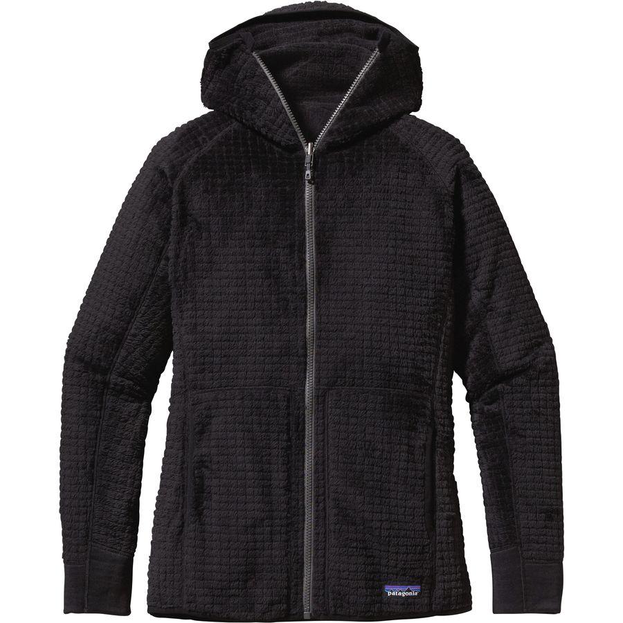 パタゴニア Patagonia レディース アウター ジャケット【R3 Hooded Fleece Jacket】Black