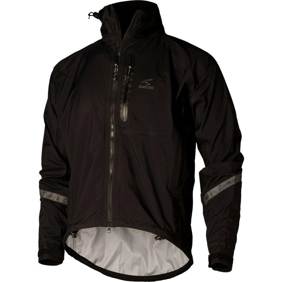 シャワーズ パス Showers Pass メンズ サイクリング ウェア【Elite 2.1 Jacket】Black