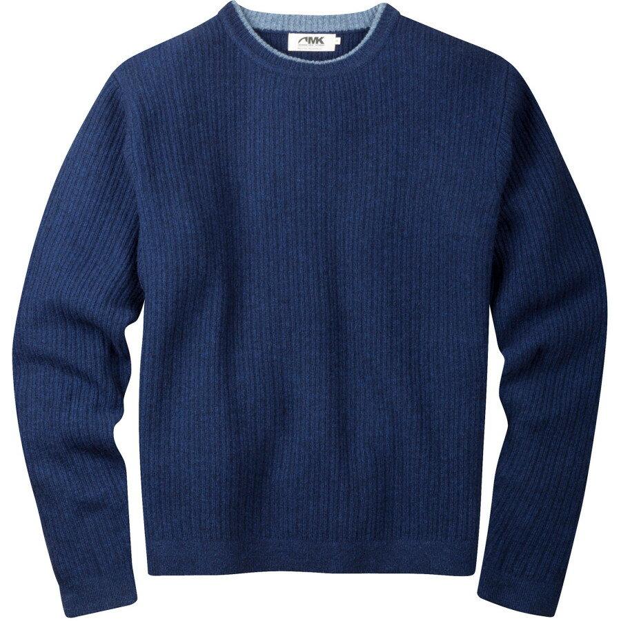 保証最高品質を持つ マウンテンカーキス Mountain Khakis メンズ トップス セーター【Lodge Crew Sweater】Midnight