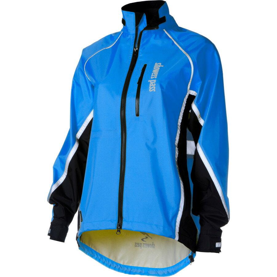 シャワーズ パス Showers Pass レディース サイクリング ウェア【Transit Jacket】Ocean Blue