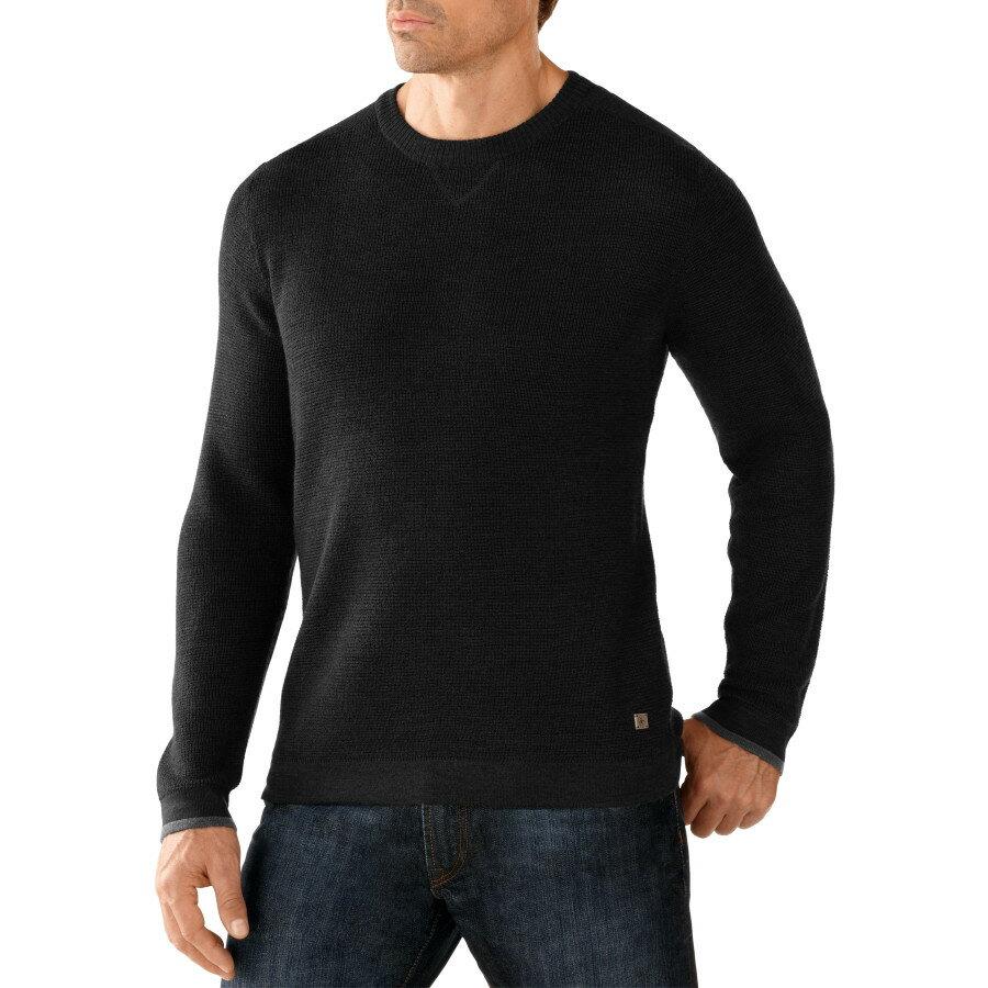 大好評 スマートウール SmartWool メンズ トップス セーター【Cheyenne Creek Crew Sweater】Charcoal Heather