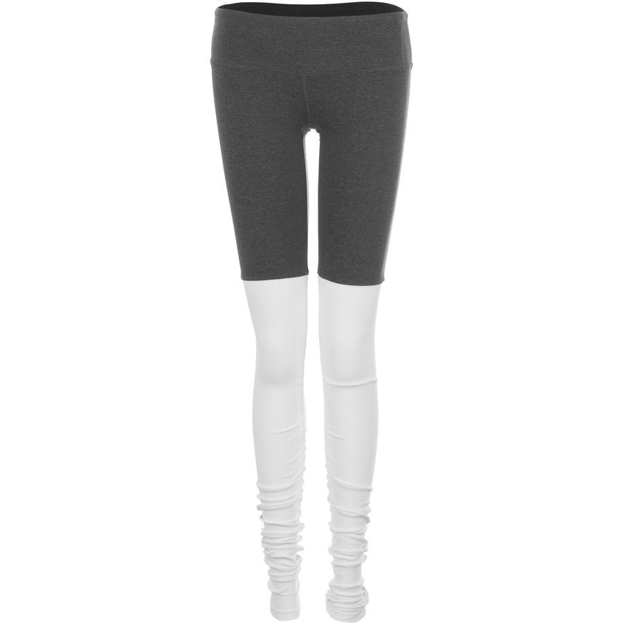 アローヨガ Alo Yoga レディース ボトムス カジュアルパンツ【Goddess Ribbed Leggings】Stormy Heather/Natural