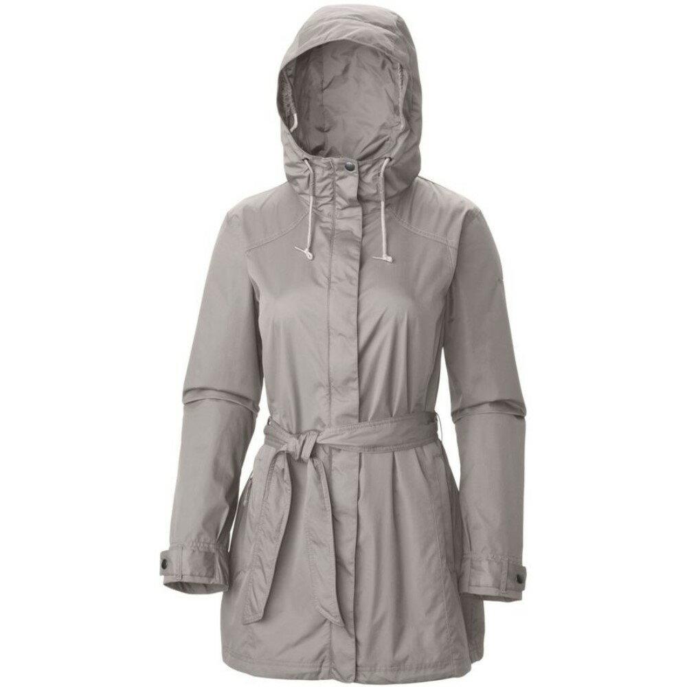コロンビア Columbia レディース アウター レインコート【Pardon My Trench Rain Jacket】Flint Grey