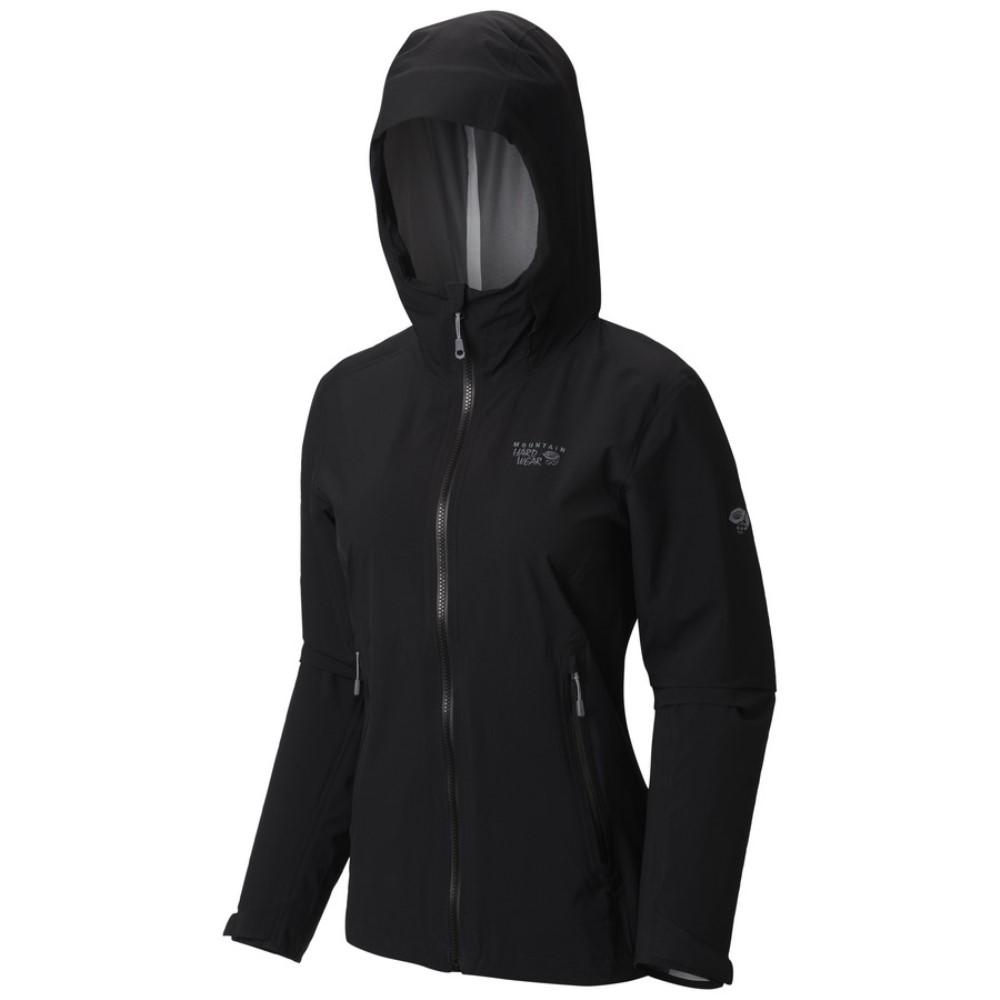 マウンテンハードウェア Mountain Hardwear レディース アウター ジャケット【Stretch Ozonic Jacket】Black