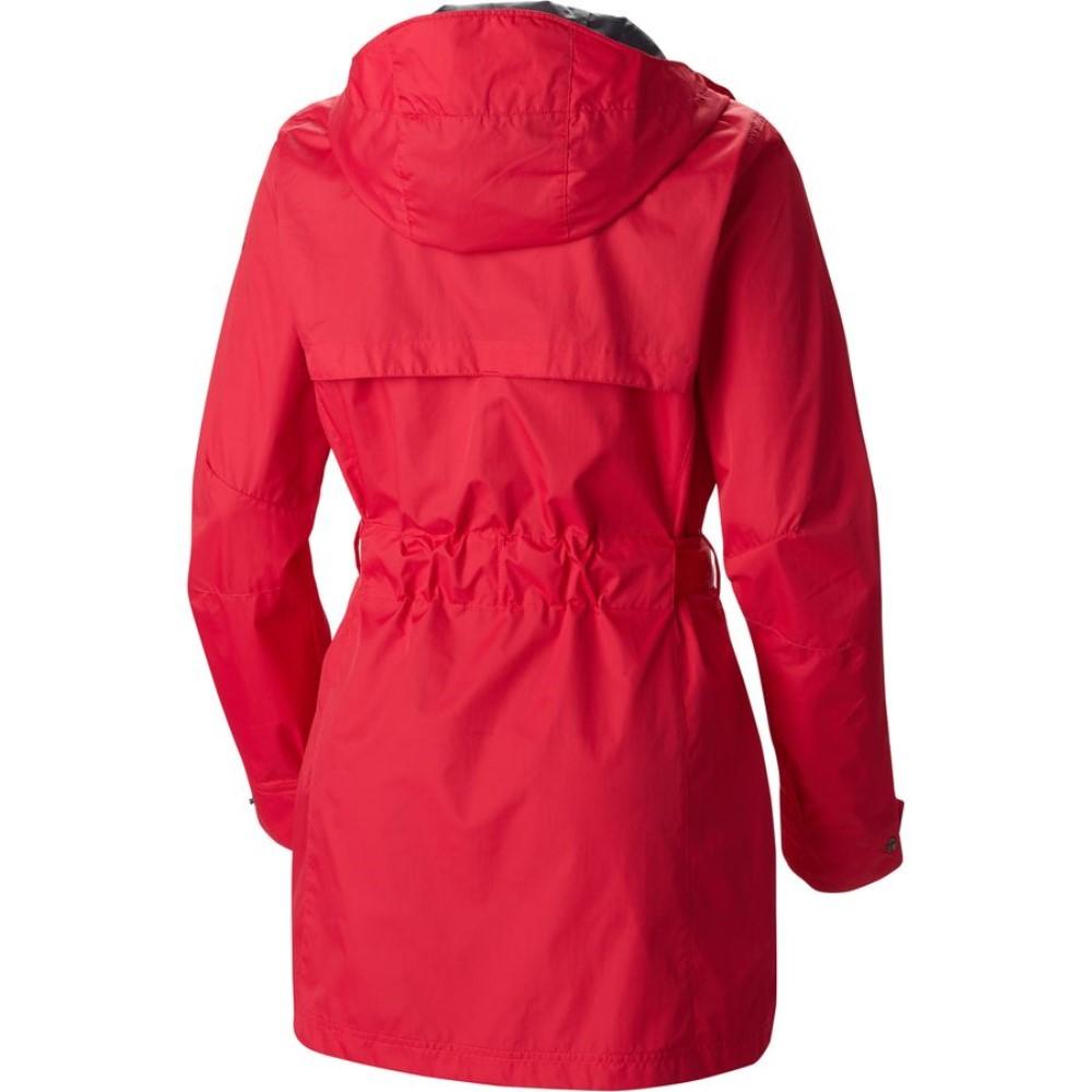 コロンビア Columbia レディース アウター レインコート【Pardon My Trench Rain Jacket】Ruby Red