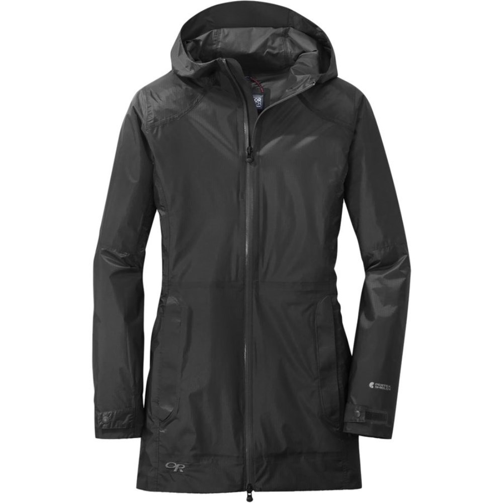 アウトドアリサーチ Outdoor Research レディース アウター レインコート【Helium Traveler Jacket】Black
