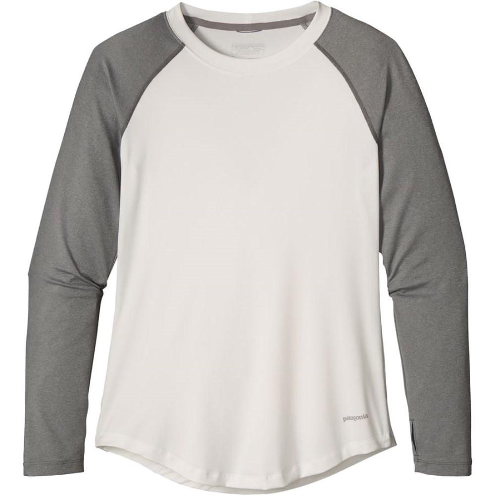 パタゴニア Patagonia レディース トップス Tシャツ【Tropic Comfort Crew】White