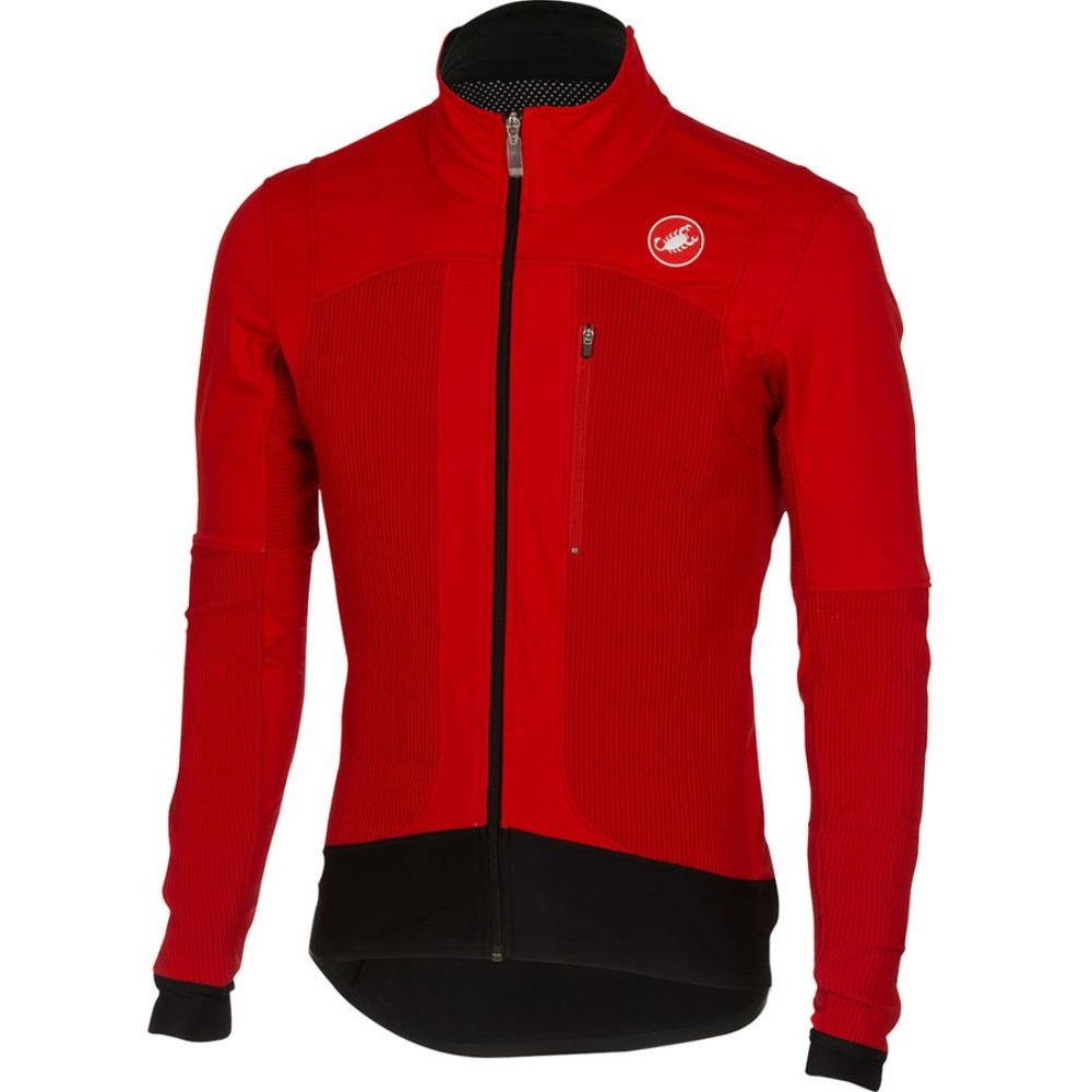 カステリ Castelli メンズ サイクリング ウェア【Elemento 2 7x(AIR) Jacket】Red