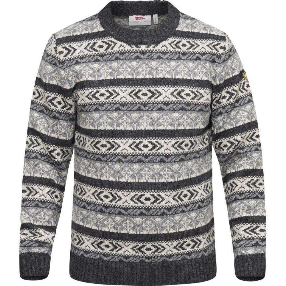 送料込即発送 フェールラーベン Fjallraven メンズ トップス セーター【Ovik Folk Knit Sweater】Dark Grey