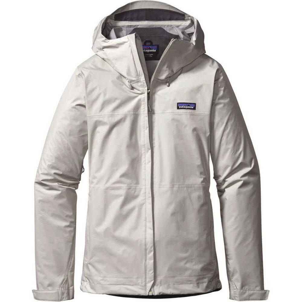 パタゴニア Patagonia レディース アウター レインコート【Torrentshell Jacket】Birch White