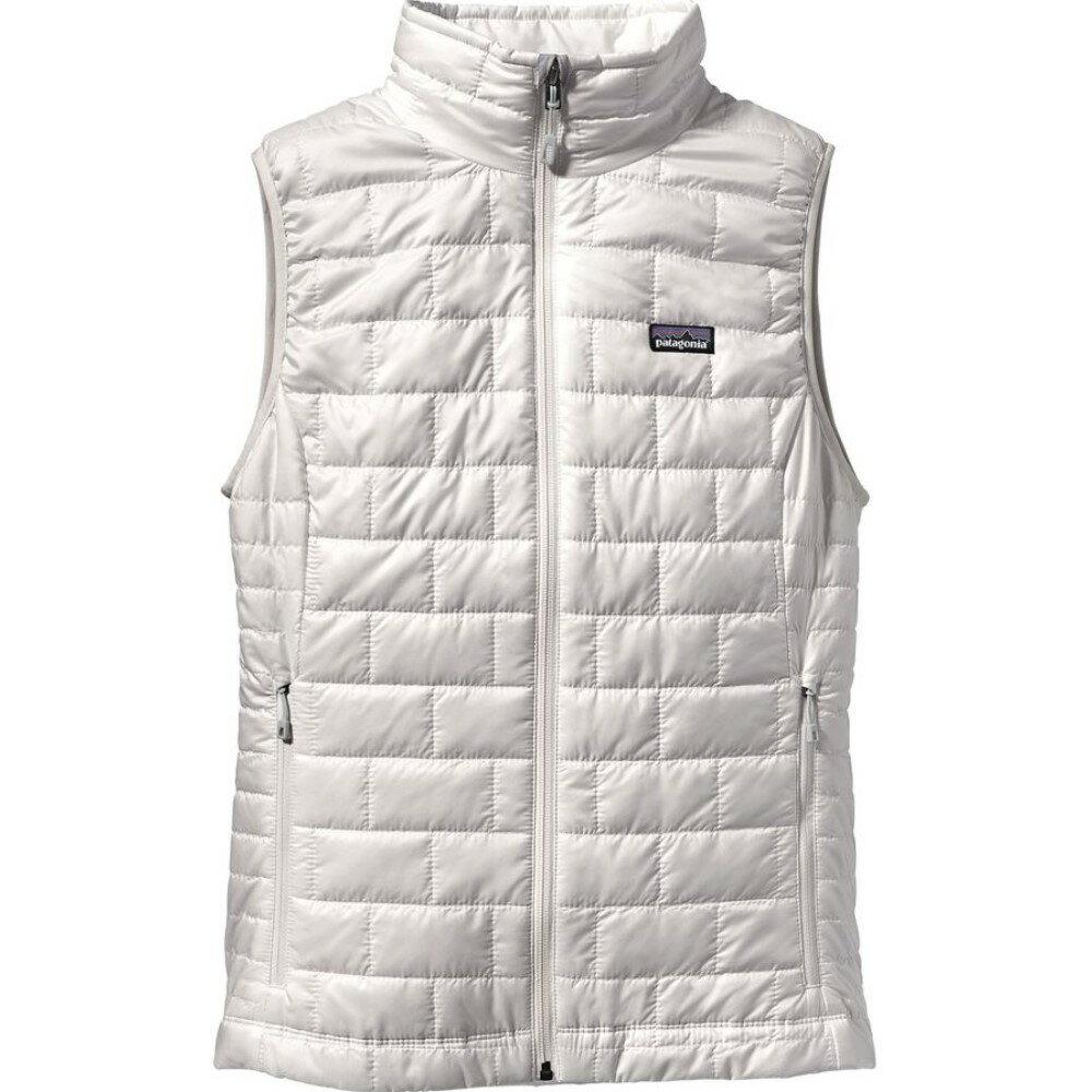 パタゴニア Patagonia レディース アウター ベスト【Nano Puff Insulated Vest】Birch White