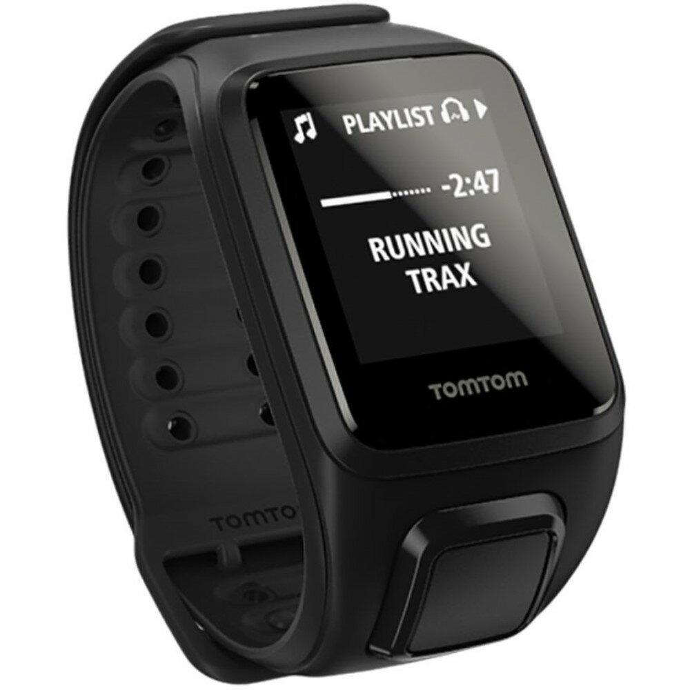 トムトム TomTom メンズ アクセサリー 腕時計【Spark + Music HP Watch】Black