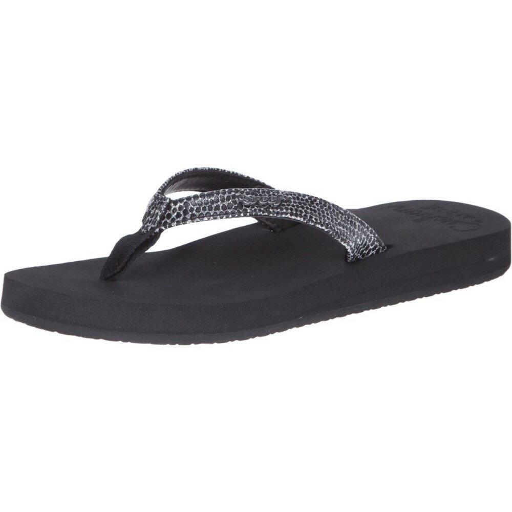 リーフ Reef レディース シューズ・靴 サンダル【Star Cushion Sassy Flip Flop】Black/Silver