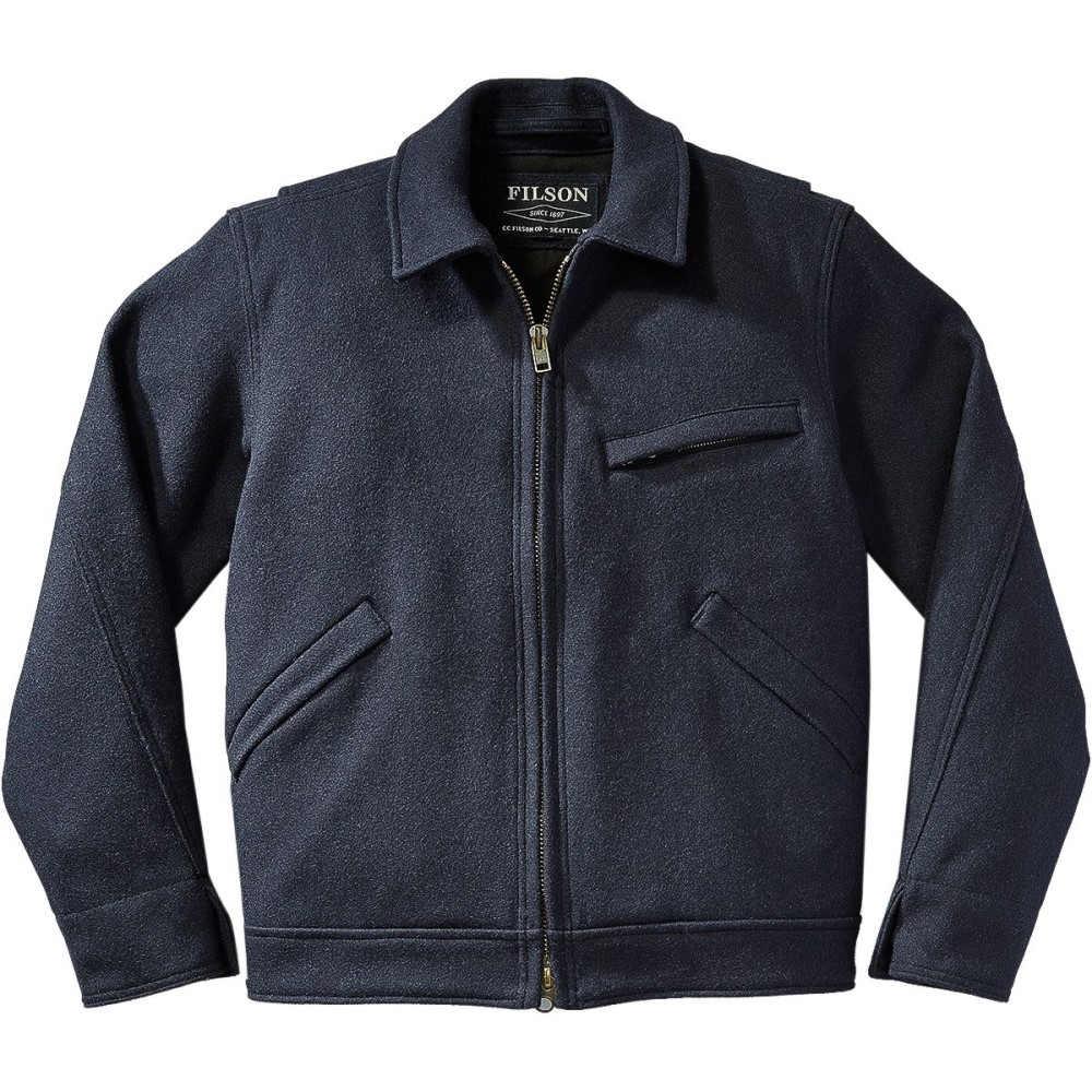 フィルソン Filson メンズ アウター ジャケット【Mackinaw Work Jacket】Navy