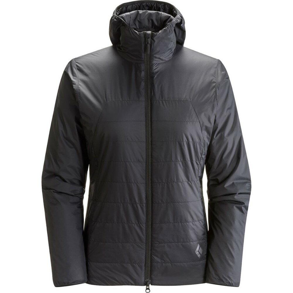 ブラックダイヤモンド Black Diamond レディース アウター ジャケット【Access Hooded Insulated Jacket】Black