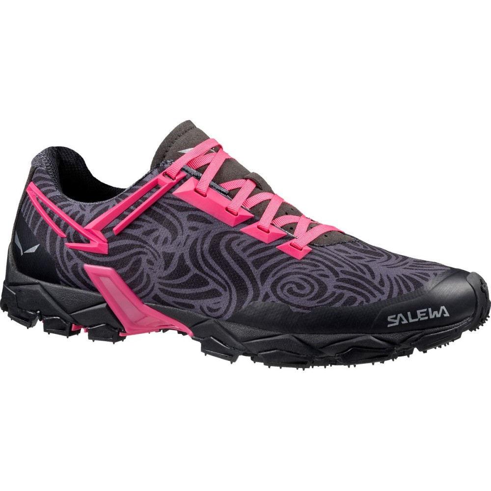 サレワ Salewa レディース ランニング シューズ・靴【Lite Train Trail Running Shoe】Black/Pinky