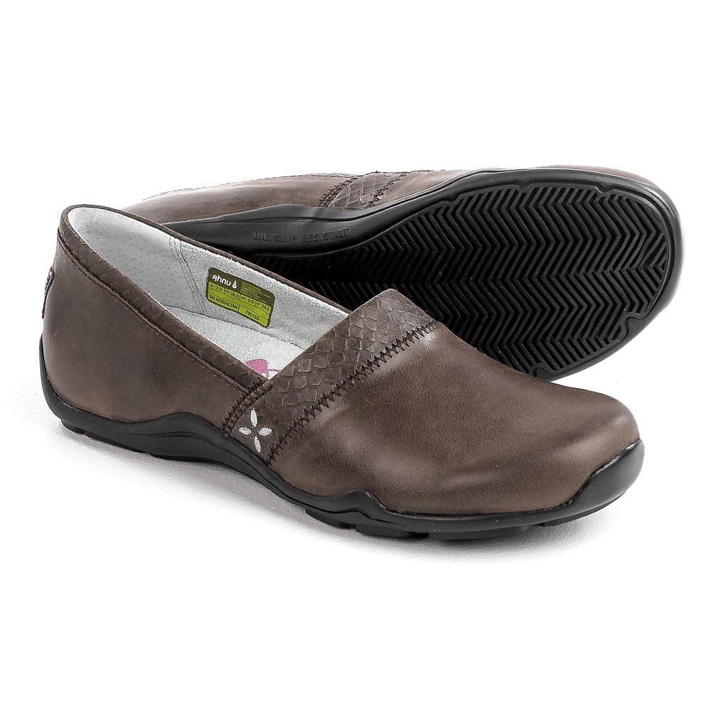 テバ Ahnu レディース シューズ・靴 ビジネスシューズ【Jackie Pro Shoes - Leather, Slip-Ons 】Coffe Bean
