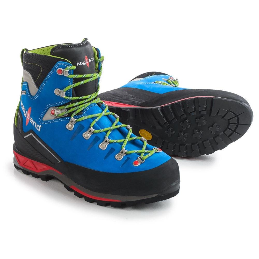 安価な価値とともに、 ケイランド Kayland メンズ 登山 シューズ・靴【Super Rock Gore-Tex Mountaineering Boots - Waterproof 】Cobalt Lime