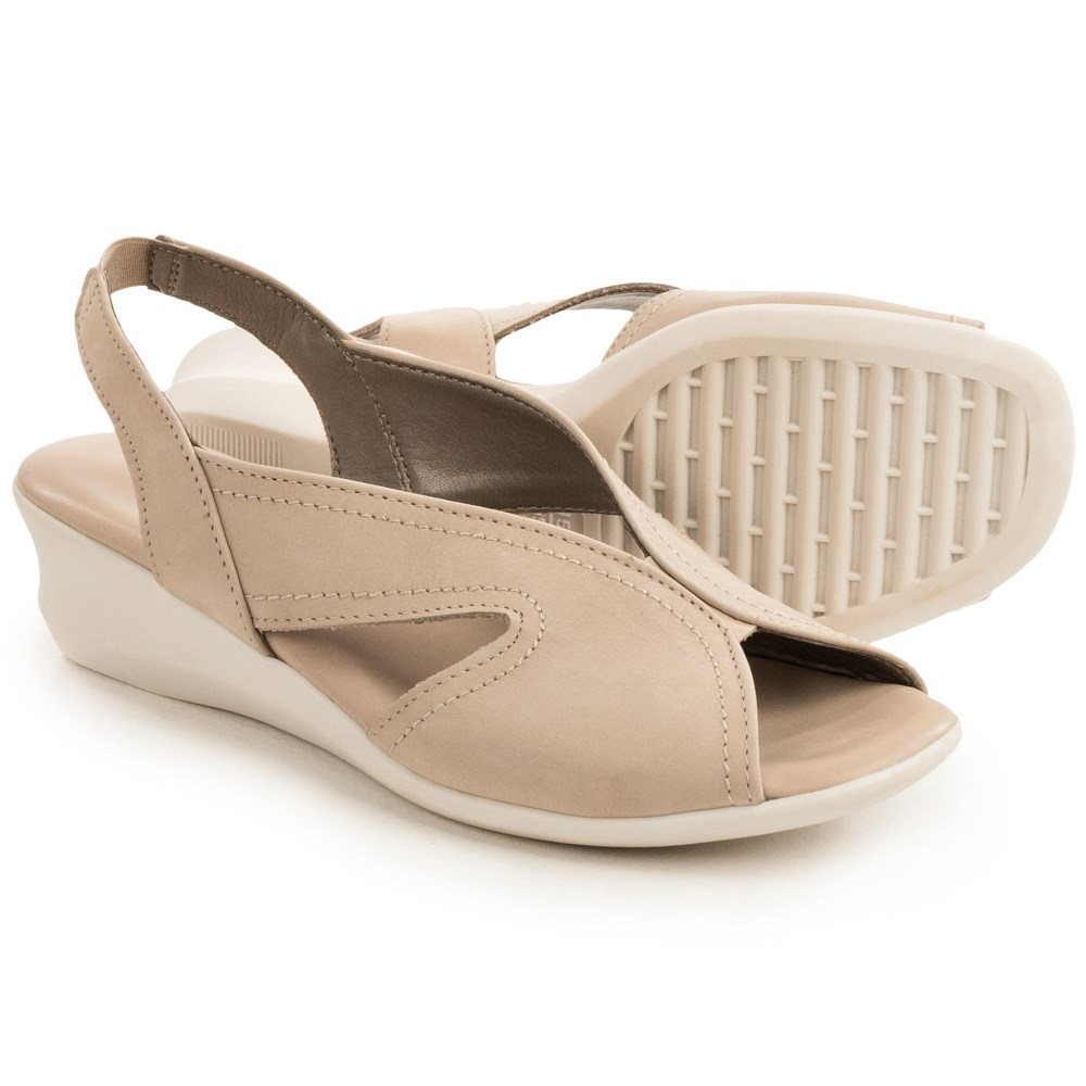 ザ フレックス The Flexx レディース シューズ・靴 カジュアルシューズ【Charlee Slingback Shoes - Nubuck, Wedge Heel 】Corda Nubuck