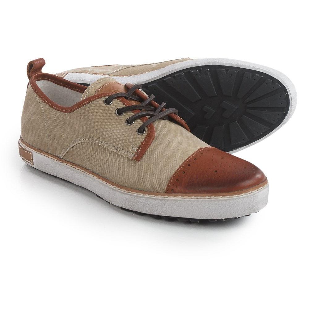 ブラックストーン Blackstone メンズ シューズ?靴 スニーカー【M22 Sneakers - Canvas-Leather 】Sand/Ember