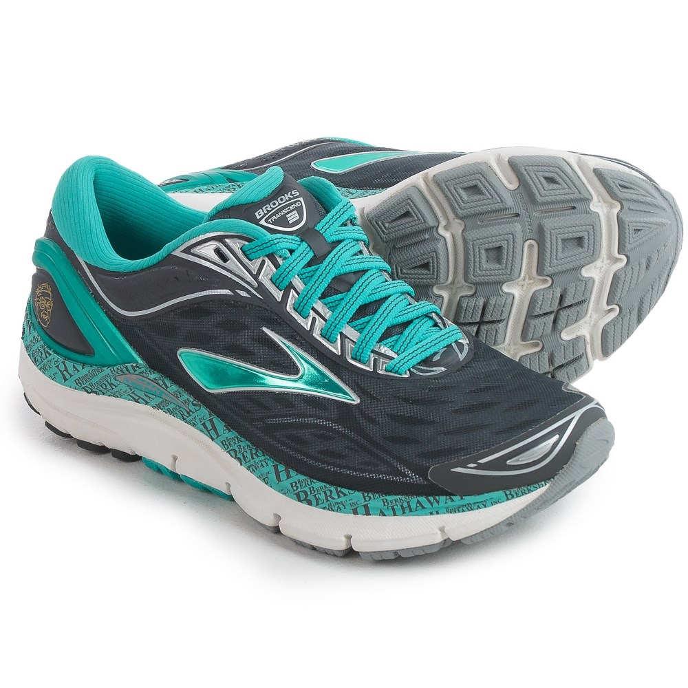 ブルックス Brooks レディース ランニング シューズ・靴【Transcend 3 Running Shoes 】Anthracite/Ceramic/Silver/Gold