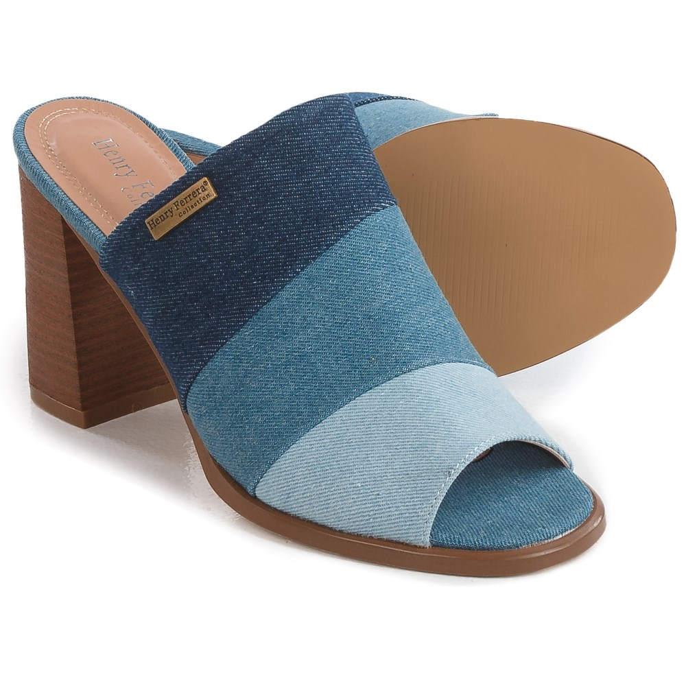 ヘンリー フェレーラ Henry Ferrera レディース シューズ・靴 カジュアルシューズ【Open-Toe Sandals 】Blue