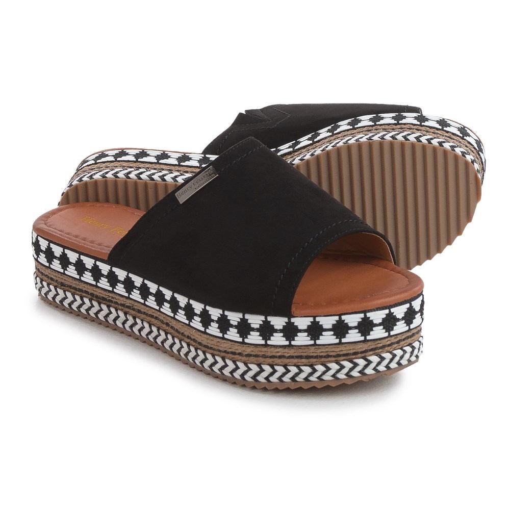 ヘンリー フェレーラ Henry Ferrera レディース シューズ・靴 カジュアルシューズ【Geometric Platform Sandals 】Black