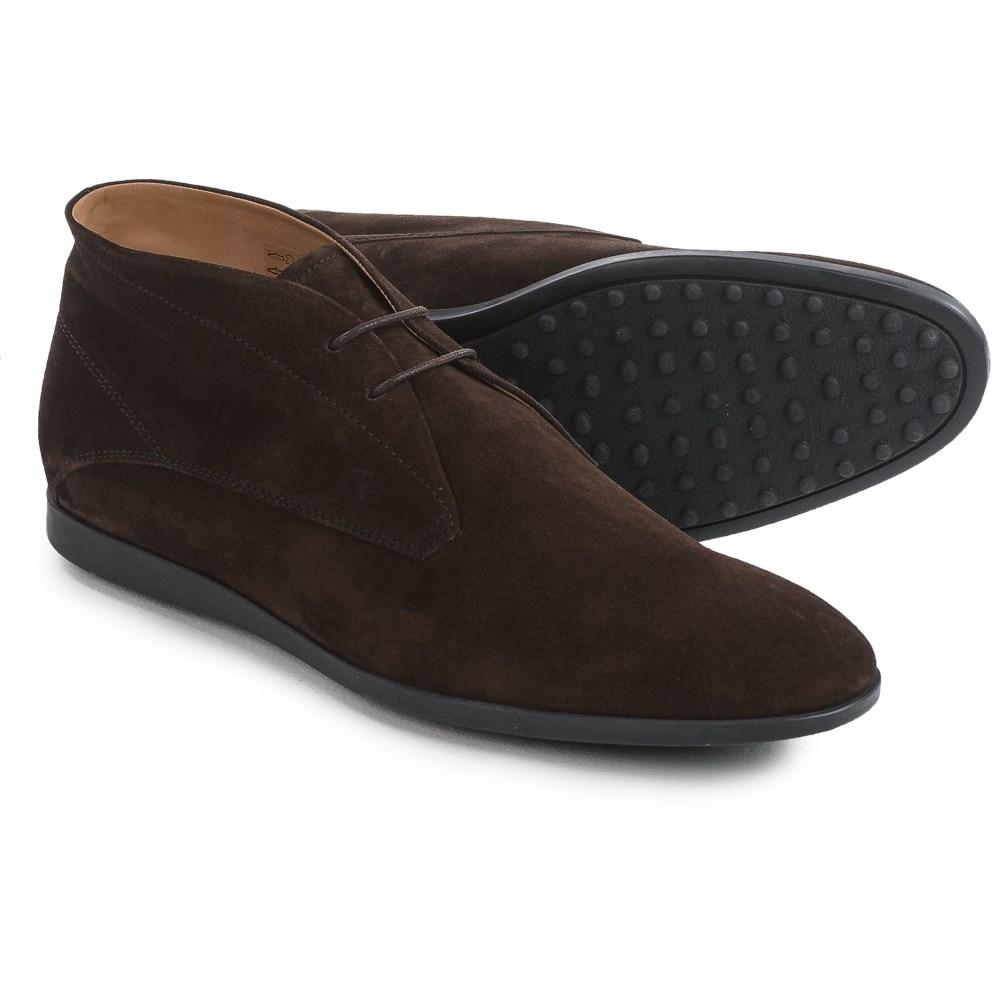 トッズ Tod's メンズ シューズ・靴 ブーツ【Tods Suede Chukka Boots 】Brown