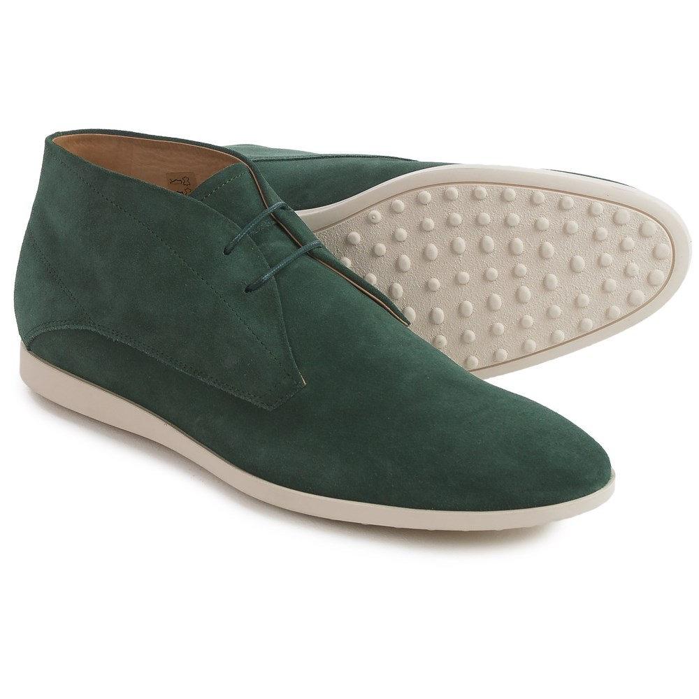 トッズ Tod's メンズ シューズ・靴 ブーツ【Tods Suede Chukka Boots 】Green