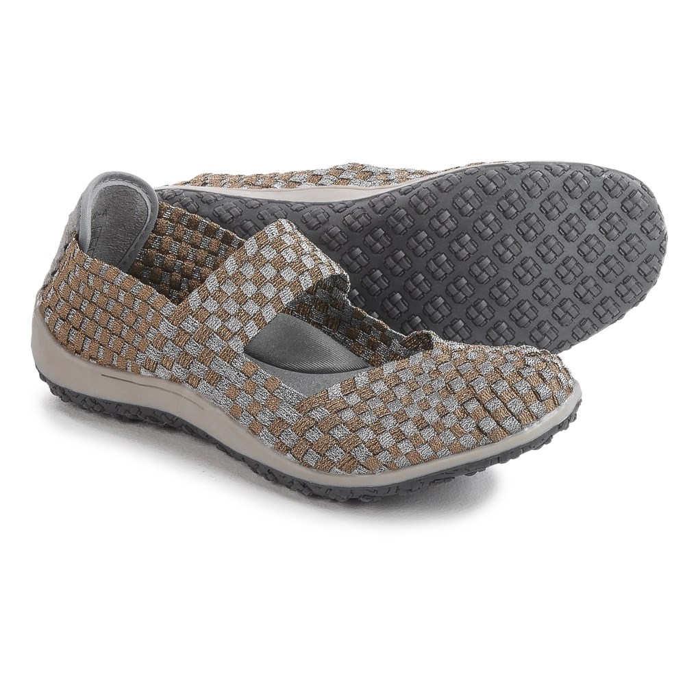 ジーアレクシス Zee Alexis レディース シューズ・靴 カジュアルシューズ【Sammi Mary Jane Shoes 】Pewter/Bronze