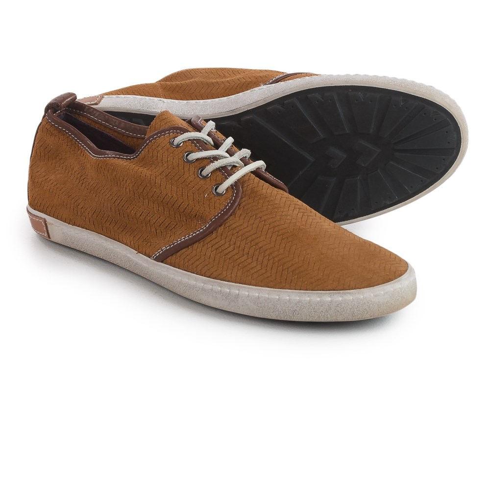 ブラックストーン Blackstone メンズ シューズ?靴 スニーカー【DM52 Herringbone Nubuck Sneakers 】Cuoio