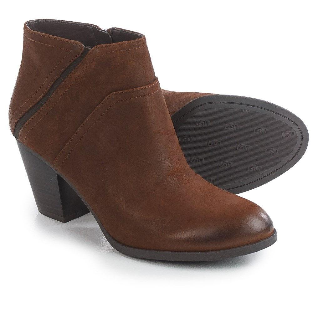 フランコサルト レディース シューズ・靴 ブーツ【Domino Ankle Boots - Suede】Tan Leather