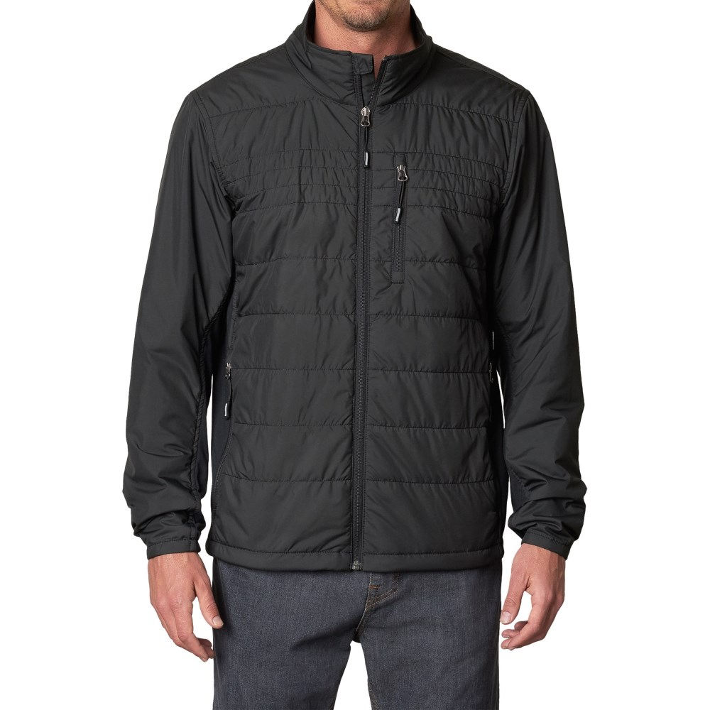 プラーナ メンズ アウター ジャケット【Blaise PrimaLoft Jacket - Insulated】Black