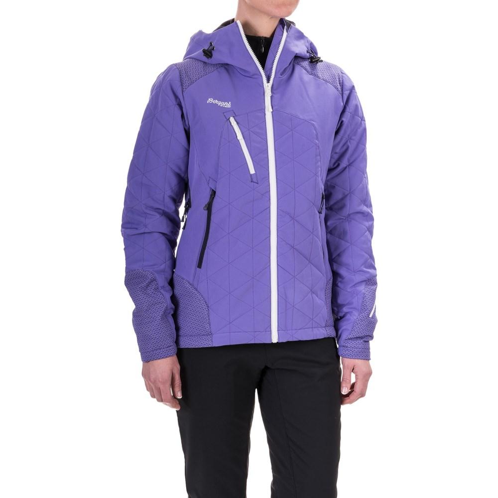 ベルガンス レディース アウター ジャケット【Kongsberg PrimaLoft Jacket - Insulated】Funky Purple/Night Blue/White