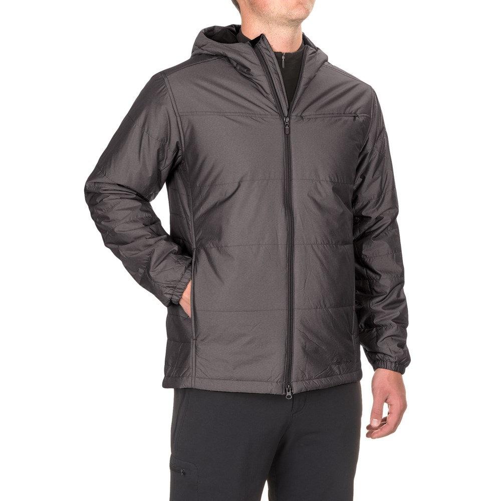エクスオフィシオ メンズ アウター ジャケット【Cosimo Hooded Jacket - Insulated】Black
