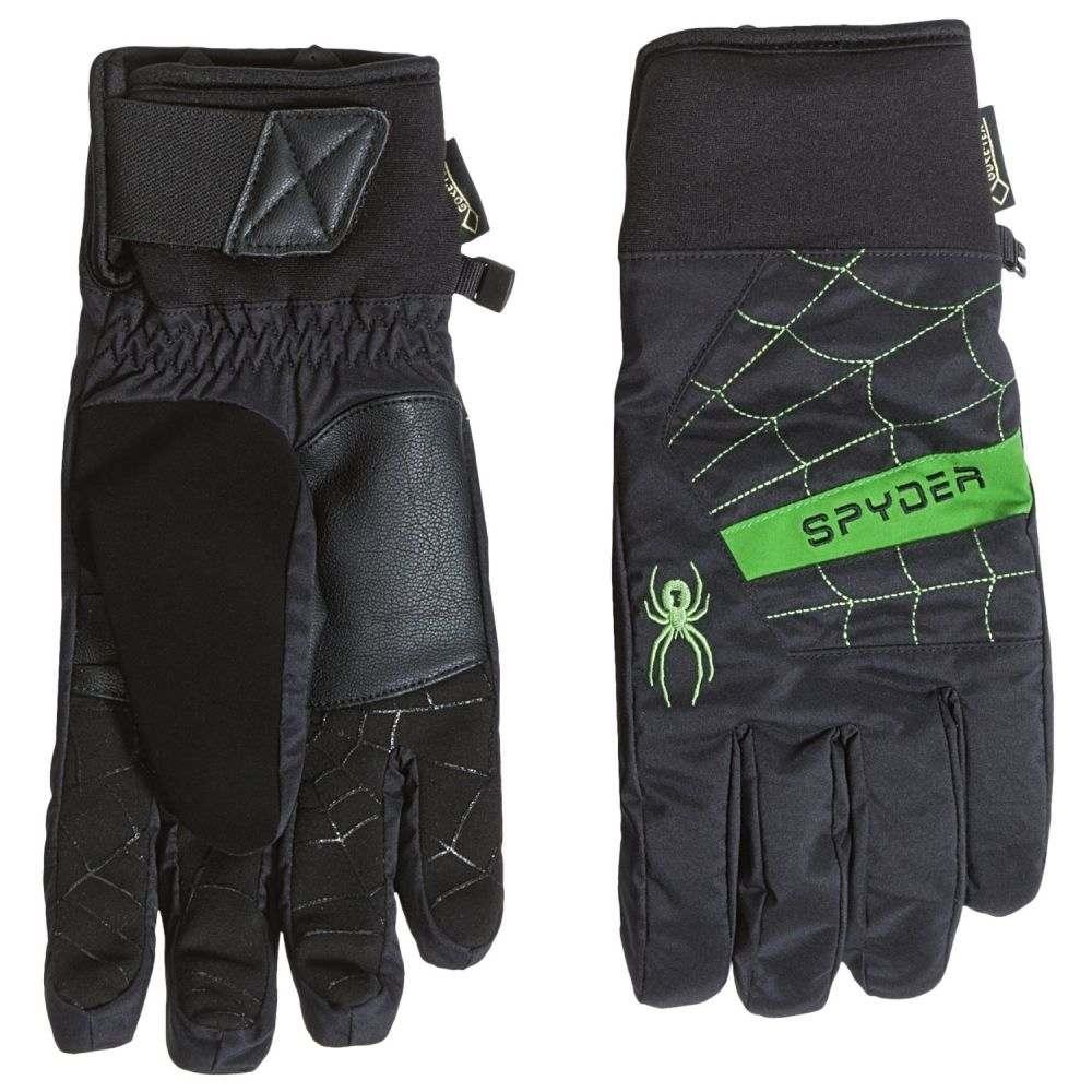 スパイダー メンズ 手袋・グローブ【Underweb Gore-Tex Ski Gloves - Waterproof, Insulated】Black/Blade