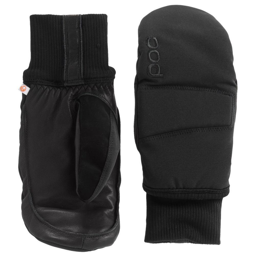 ピーオーシー メンズ 手袋・グローブ【Nail Color Mittens - Waterproof, Insulated】Uranium Black