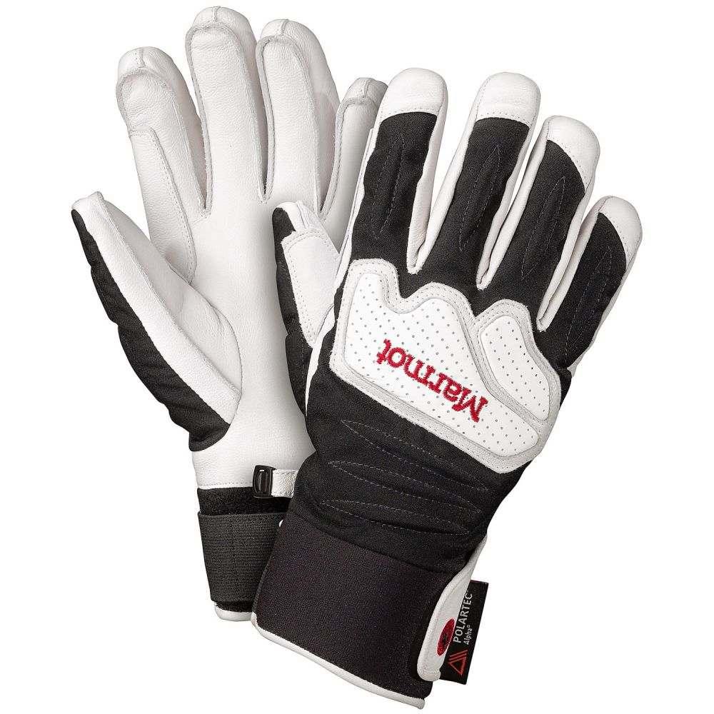 マーモット メンズ 手袋・グローブ【Cataclysm Undercuff Polartec Gloves - Waterproof, Insulated】White