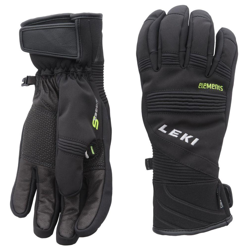 レキ メンズ 手袋・グローブ【Elements Palladium S Gloves - Waterproof, Insulated】Black