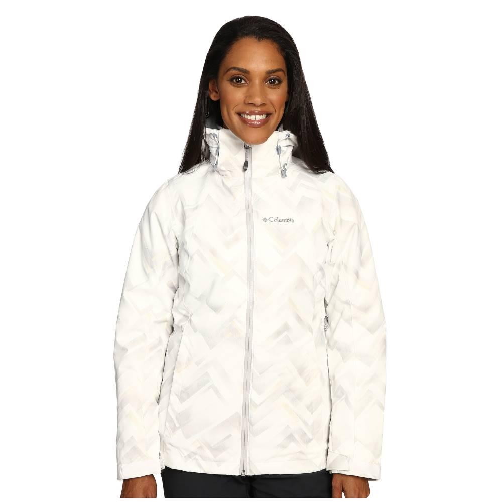 コロンビア Columbia レディース アウター コート【Whirlibird Interchange Jacket】White Geo Print